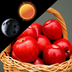 Fresh Apples Weather Clock apk file