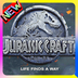 Jurassic Craft World Park Addon for MCPE apk file